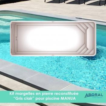 Margelles modèle Kristal...