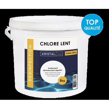 Chlore lent 250g Kristal...