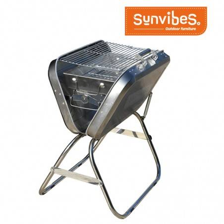 Barbecue pliable avec...