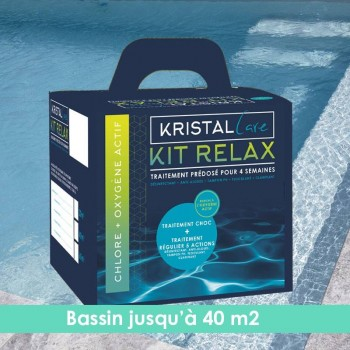 Kit Relax Kristal Care 40m3