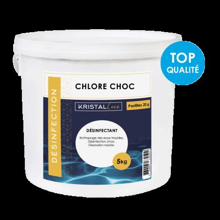 Chlore_choc _20pastilles_KristalCare_5kg
