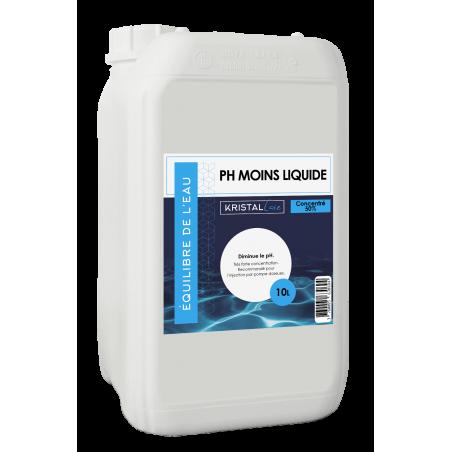 pH Minus liquide concentré Kristal Care 10L