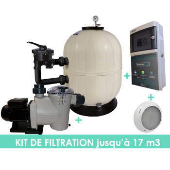 Kit filtration EVO Side 6m3/h