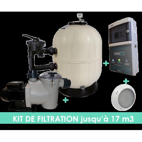 Kit filtration EVO Side 6m3/h