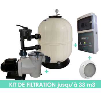 Kit filtration EVO Side 10m3/h