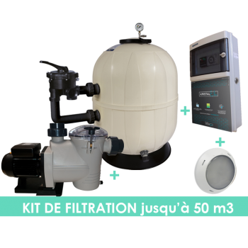 Kit filtration EVO Side 14m3/h