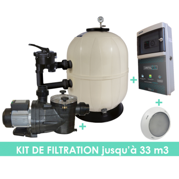 Kit filtration complet EVO+...