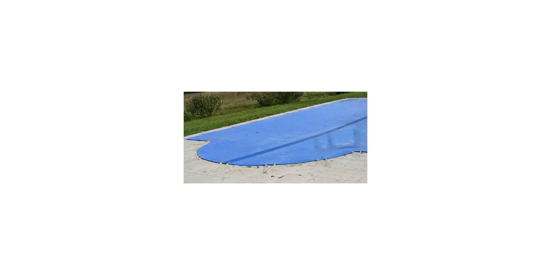 Bâche d'hiver sur mesure pour piscine