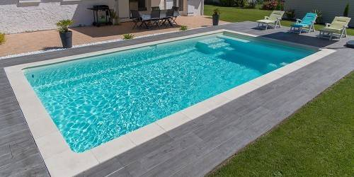 Margelles de piscines